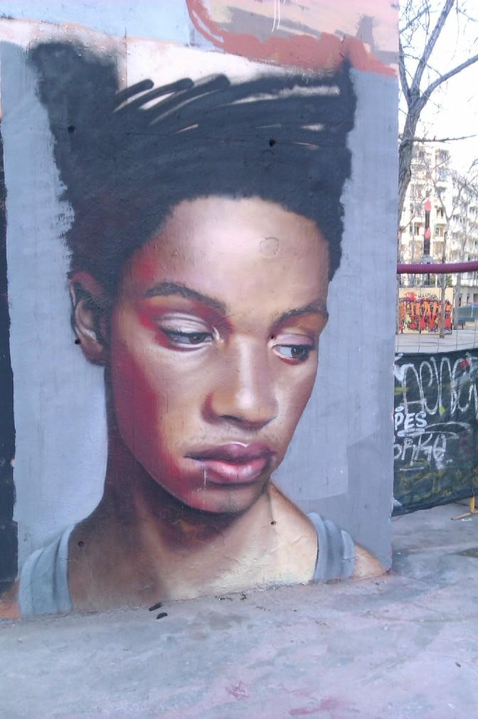 Stumbling on Barcelona's street art